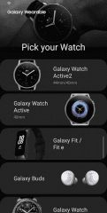Galaxy Wearable (Samsung Gear) Screenshot #1